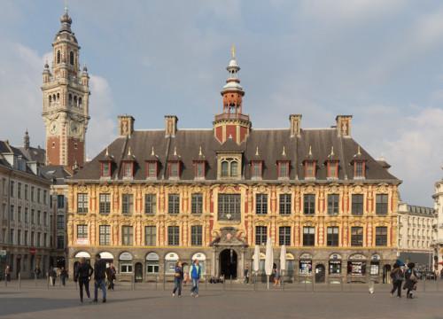 Traumhaftes Abendlicht in Lille