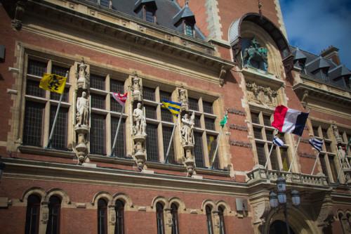 Rathaus von Dunkerque – hier ist Französisch-Flamenland!