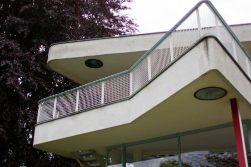 Balkon von Norden