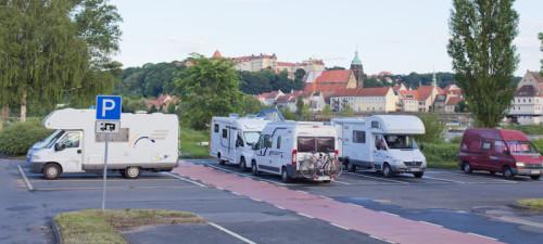 Kostenloser Wohnmobil-Stellplatz in Pirna-Copitz