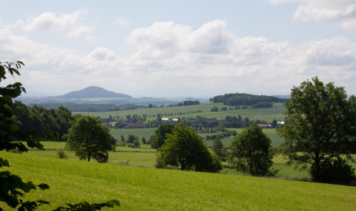 Über Land in den Königshainer Berge