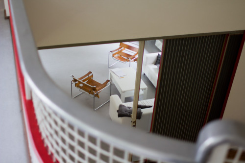 Blick in den Wohnraum vom erste Stock