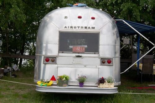 Airstream-Wohnwagen