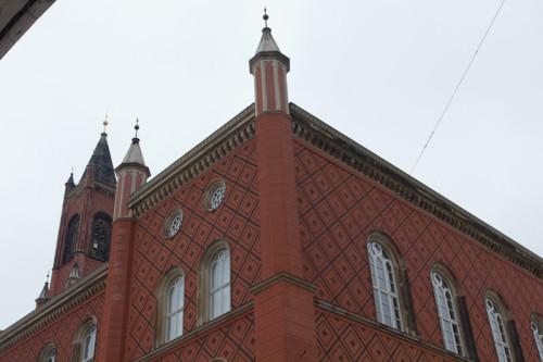 Rathaus von Kamenz. Hat fast etwas venezianisches