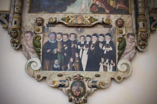 Irgendwie sehen die Im Sakralmuseum: Herrschaften aber doch ziemlich evangelisch aus, oder?