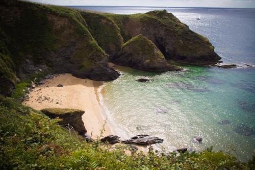 Strand in Roseland Cornwall