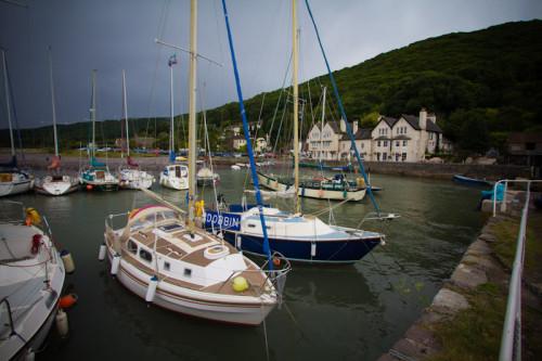 Hafen in Porlock Weir