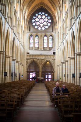 Langhaus der Kathedrale
