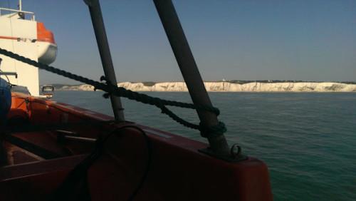 Annäherung an Dover