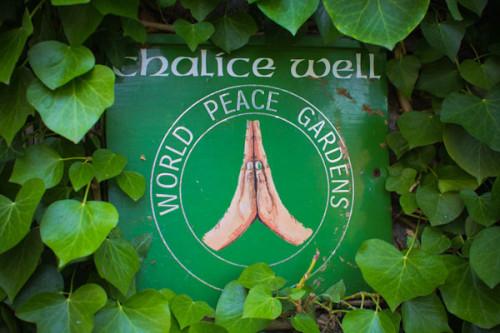 Ein geheiligter Ort voller Frieden …