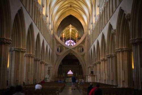 Scherenbögen Kathedrale von Wells