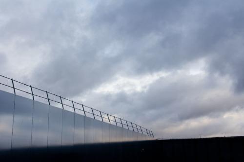 Die Wolken wissen noch nicht so recht, was sie wollen.