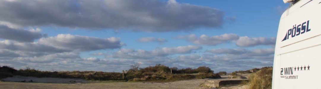 Es bläut so bläu im Kohlerevier … frostige Nächte im Norden