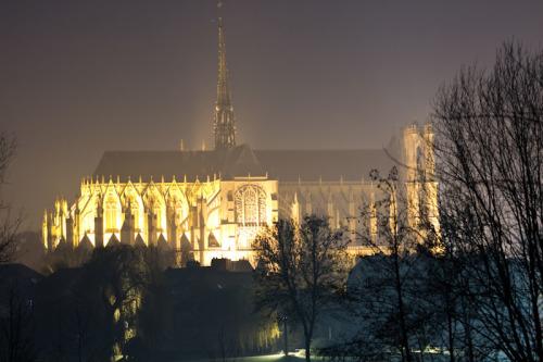 Silversterfeuerwerk 2014 in Amiens …