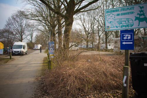 """Stellplatz Bremen """"Am Kuhhirten"""""""