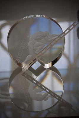 Moderneres Böhmisches Glas