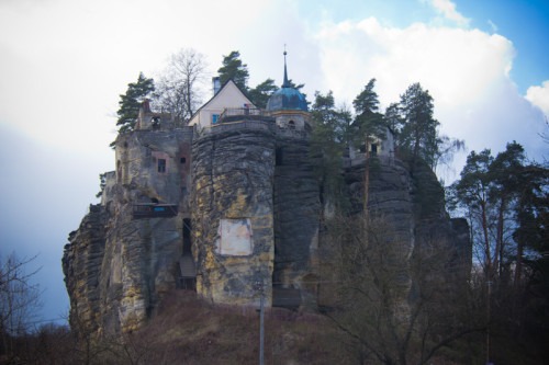 Einsiedlerstein in Bürgstein (Sloup)