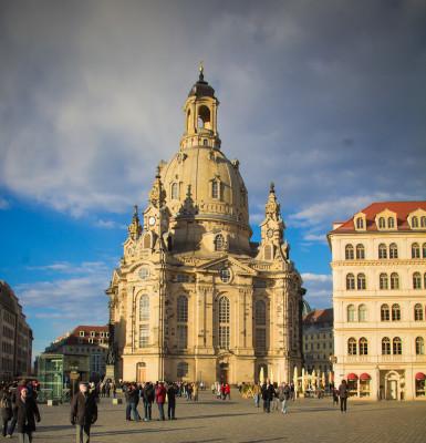 Ein kurzer Blick auf Dresden …