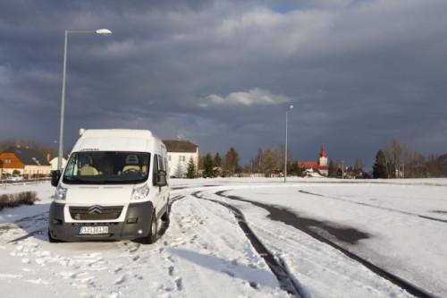 Stellplatz/Parkplatz am Herrnhausfelsen
