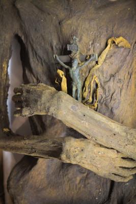 Mumifizierte Barockleiche