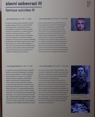 Was haben Kurt Cobain und Josef Goebbels gemeinsam, daß sie es auf eine Infotafel schaffen?