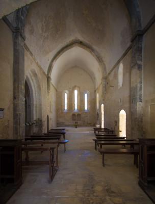 Die schlichte kleine Abteikirche