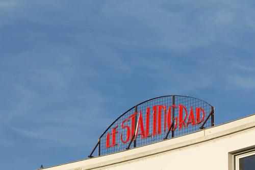 Le Stalingrad. Ja, wirklich nach der Schlacht benannt.