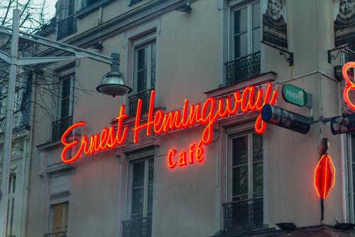 Hemingway ist nur eins davon.