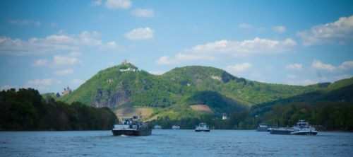 Drachenfels, Drachenburg und Nonnenwerth