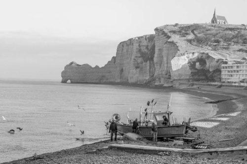 Normandie Etretat Wanderung