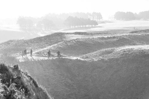 Normandie Etretat Wanderung Golfplatz