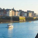 Dieppe Normandie Hafen Segelboot