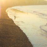 Dieppe Normandie Strand Ebbe