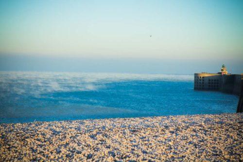 Dieppe Strand Wohnmobil