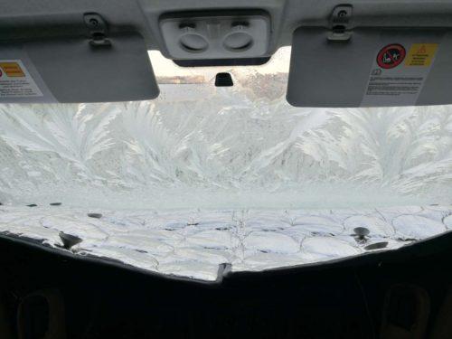 Wintercamping Normandie Frost