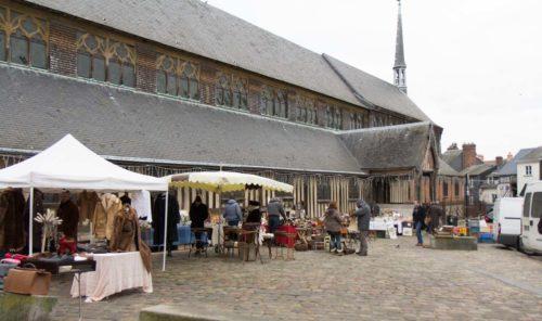 Holzkirche in Honfleur, Normandie Calvados