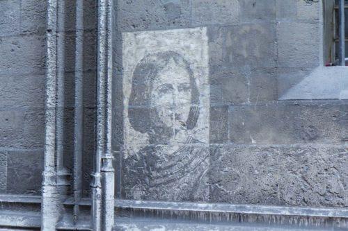 Jeanne d'Arc an jeder Ecke