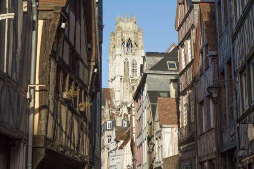 Normandie Wohnmobil Rouen