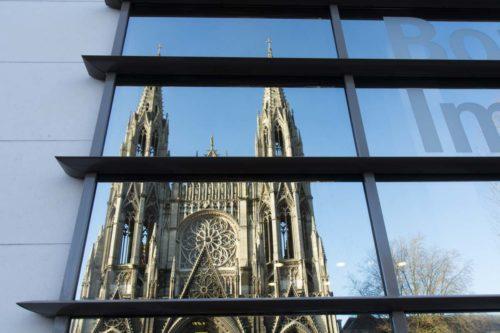 Rouen Altstadt, Normandie Wohnmobil