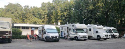 Campingplatz International in Temeswar – etwas unromantischer als nötig