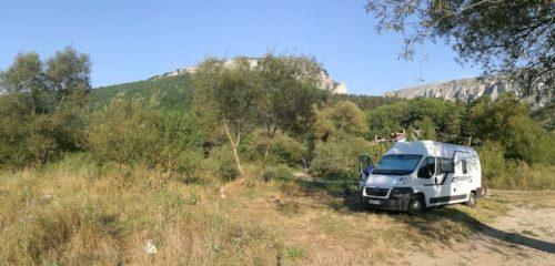 Wohnmobil Rumänien Turda Schlucht