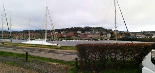 Honfleur Normandie Wohnmobilstellplatz