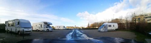 Wohnmobilstellplatz Mémorial Caen
