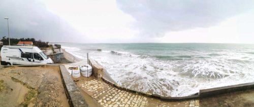 Wohnmobil Atlantikküste Winter