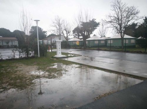 Wohnmobil-Stellplatz in Rivedoux Versorgung Entsorgung