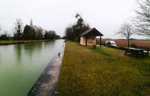 Wohnmobilstellplatz Orconte Canal