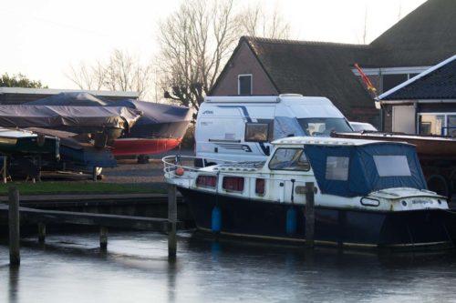 Wohnmobilstellplatz Tersoal Friesland Jachthafen