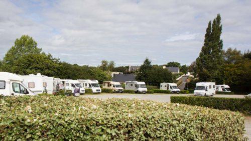 Reisemobil-Stellplatz Saint Thégonnec – super angelegt, sehr zentral