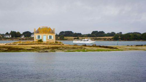 St. Cado mit Boot