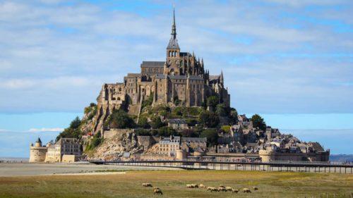 Entfernung vom Mont Saint Michel